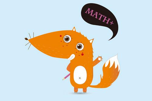 数学故事画画图片