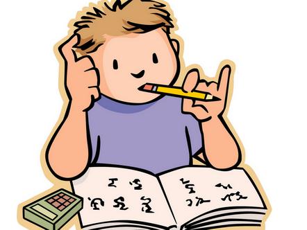 努力学习 可爱漫画